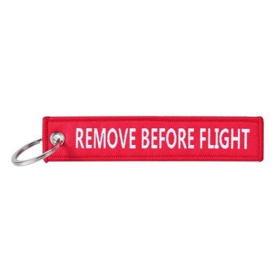 Kľúčenka remove before flight