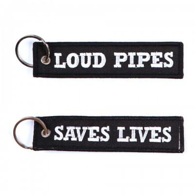 Kľúčenka loud pipes saves loves