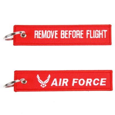 Kľúčenka RBF + Airforce red