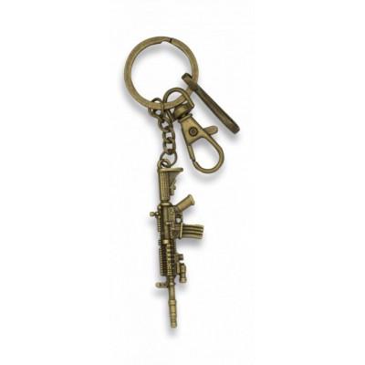 """Prívesok na kľúče """"zamak"""" M-16"""