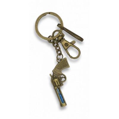 """Prívesok na kľúče """"zamak"""" REVOLVER"""