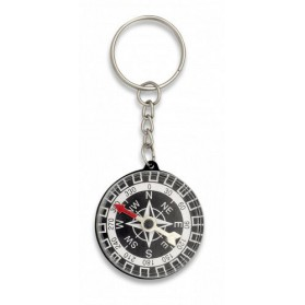 Prenosný kompas na kľúče