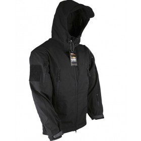 Bunda PATRIOT Tactical Soft Shell Jacket, čierna