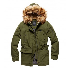 Bunda Vintage Industries Hailey Parka, olive