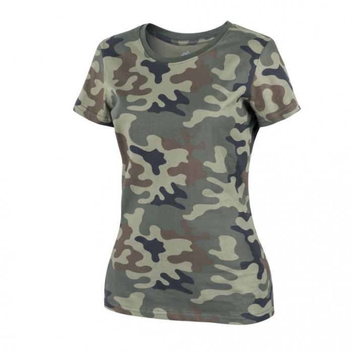 Dámske tričko HELIKON, PL Woodland