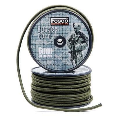 Bungee FOSCO šnúra 6 mm 30 mtr.
