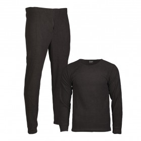 Thermo komplet MIL-TEC Fleece, čierne