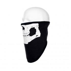 Šatka 101.INC bavlnená Skull, čierna
