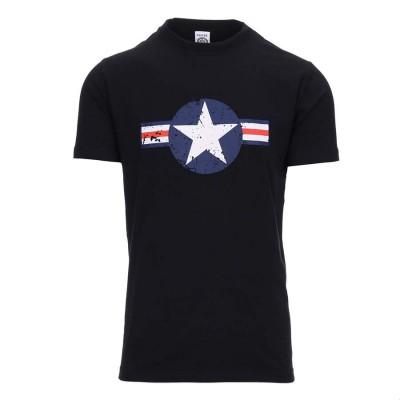 Tričko WW II, čierne