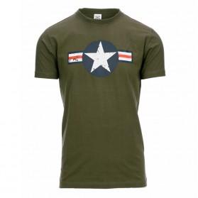 Tričko WW II, olive