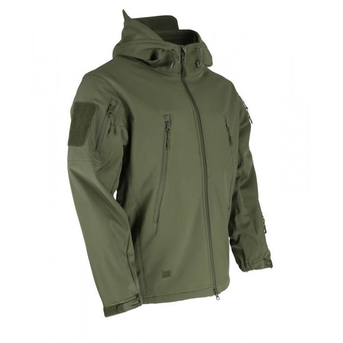 Bunda KOMBAT PATRIOT Tactical Soft Shell Jacket, olive