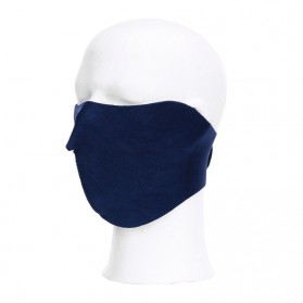 Maska na bicykel, tmavá modrá