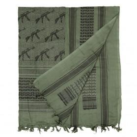 Šatka bavlnená 101.INC. (Arafatka) AK, zelená