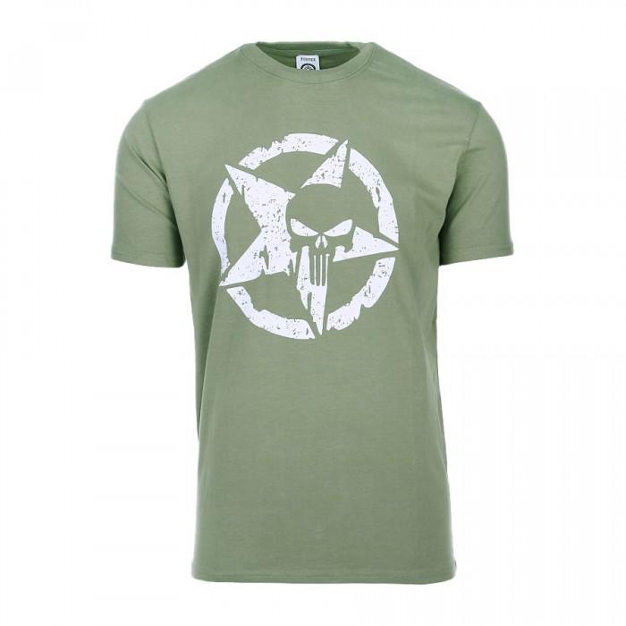 Tričko Allied Star punisher, olive
