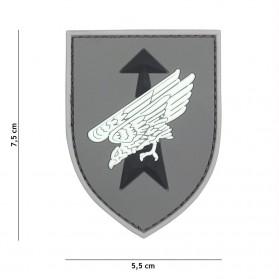 Nášivka PATCH 3D PVC German Special Forces grey