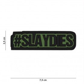 Nášivka PATCH 3D PVC slaydies green