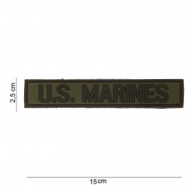 Nášivka PATCH 3D PVC US Marines