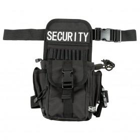 """Taška bedrová """"Security"""" - čierna"""