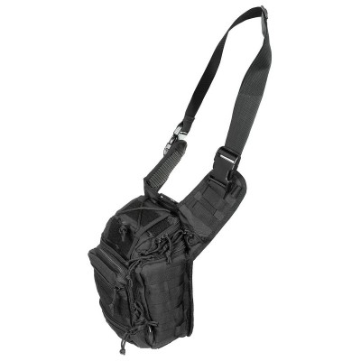 MFH Deluxe kapsa na rameno, čierna