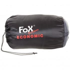 """Spací vak múmia FOX """"Economic"""", čierno-sivý"""