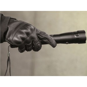 Rukavice MIL-TEC taktické s päsťou, Čierne