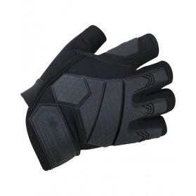 Taktické bezprstové rukavice Alpha, čierne