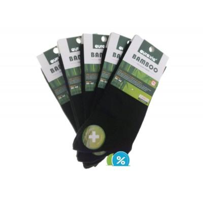 Ponožky BAMBOO FF9308, čierne