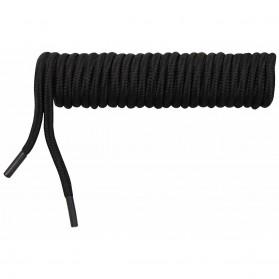 Šnúrky do vysokej obuvi MFH 160cm, čierne