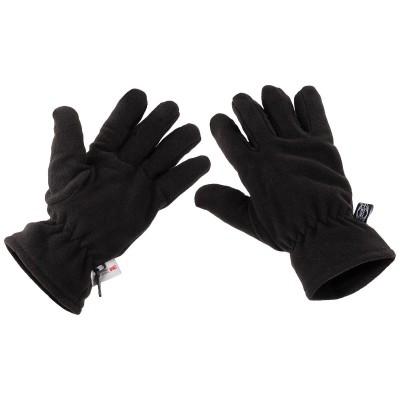Rukavice MFH Thinsulate vložkou, čierne