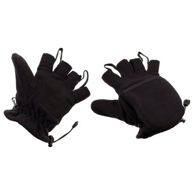 Rukavice lovecké Fleece Black
