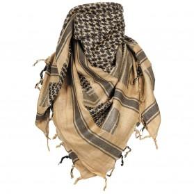 Šatka bavnená MFH (Arafatka), sand-schwarz