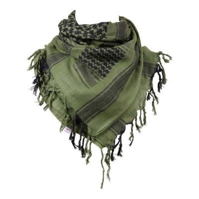 Šatka bavlnená 101.INC. (Arafatka), olive