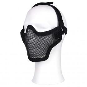 Ochranná maska AIRSOFT, čierna