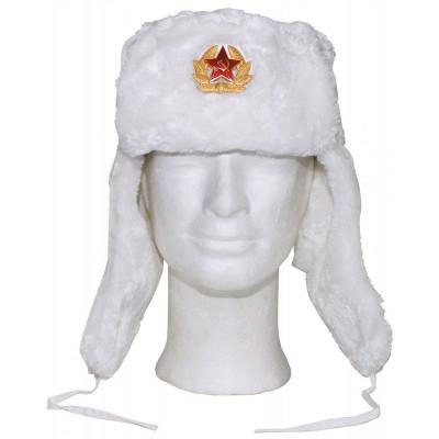 Baranica MFH s ruským odznakom, biela