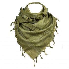 Šatka bavlnená (arafatka), zelená