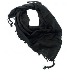 Šatka bavnená (Arafatka) čierna