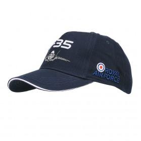 """Šiltovka """"Baseball"""" detská F-35 Royal Air Force, modrá"""