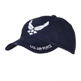 "Šiltovka ""Baseball"" US Airforces, modrá"