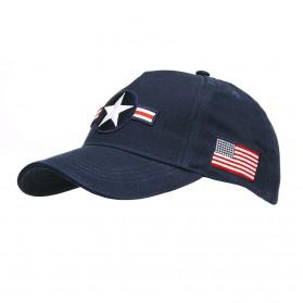 """Šiltovka """"Baseball"""" USAF Roundel, modrá"""