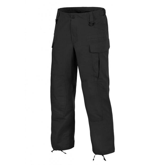 Nohavice SFU NEXT PANTS® - POLYCOTTON RIPSTOP, čierne