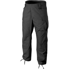Nohavice SFU NEXT® - POLYCOTTON TWILL, čierne