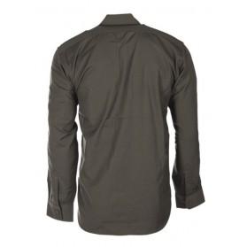Košeľa MIL-TEC Rip-Stop s dlhým rukávom, olive