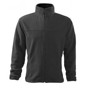 Mikina ADLER pánska fleecová Jacket, šedá