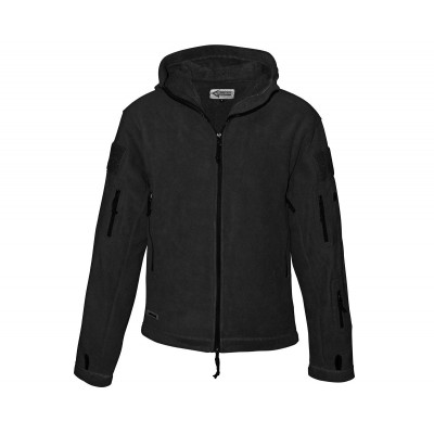 Mikina COMMANDO fleecová Jacket, čierna