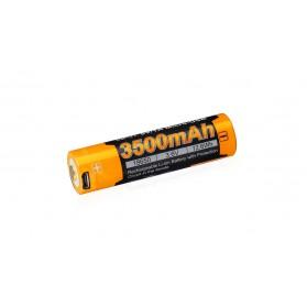 Dobíjacia batéria Fenix 18650 3500 mAh USB