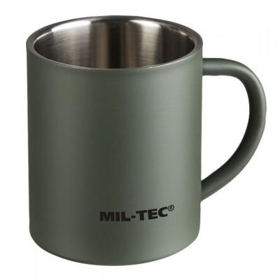 Hrnček MIL-TEC dvojplášťový 300 ml, olive
