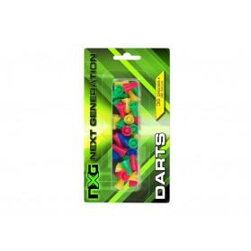 Šípky do fúkačky NXG, 36 ks