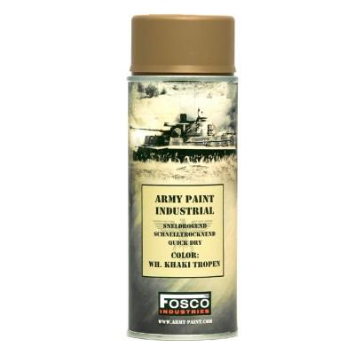 Farba FOSCO v spreji matná 400 ml, WH khaki tropen