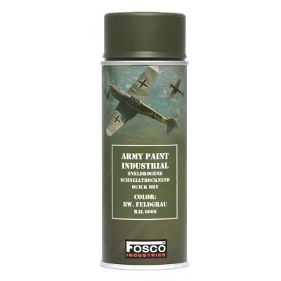 Farba FOSCO v spreji matná 400 ml, BW. Feldgrau