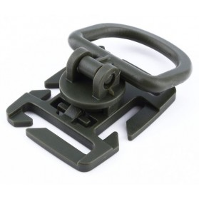 Clip D-RING univerzálny molle, olive